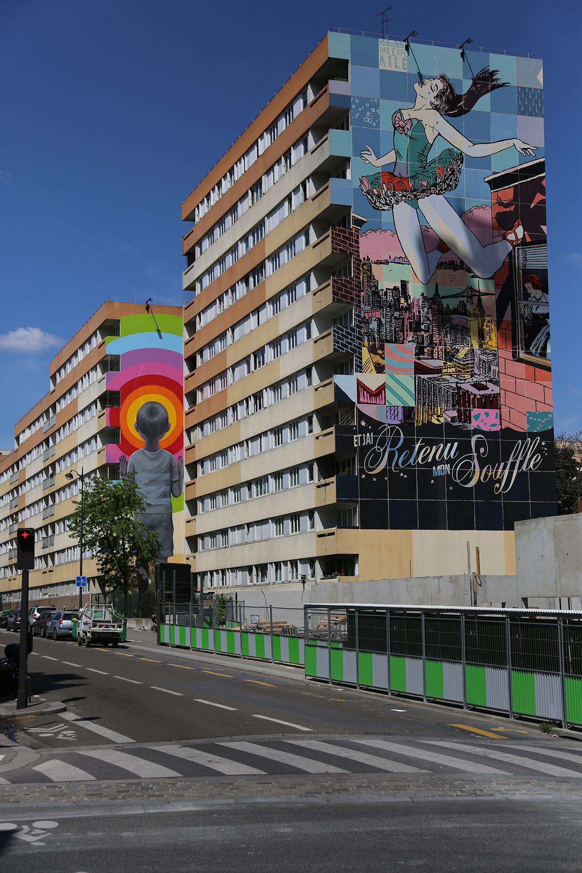 Seth et Faile à Paris pour Street Art 13