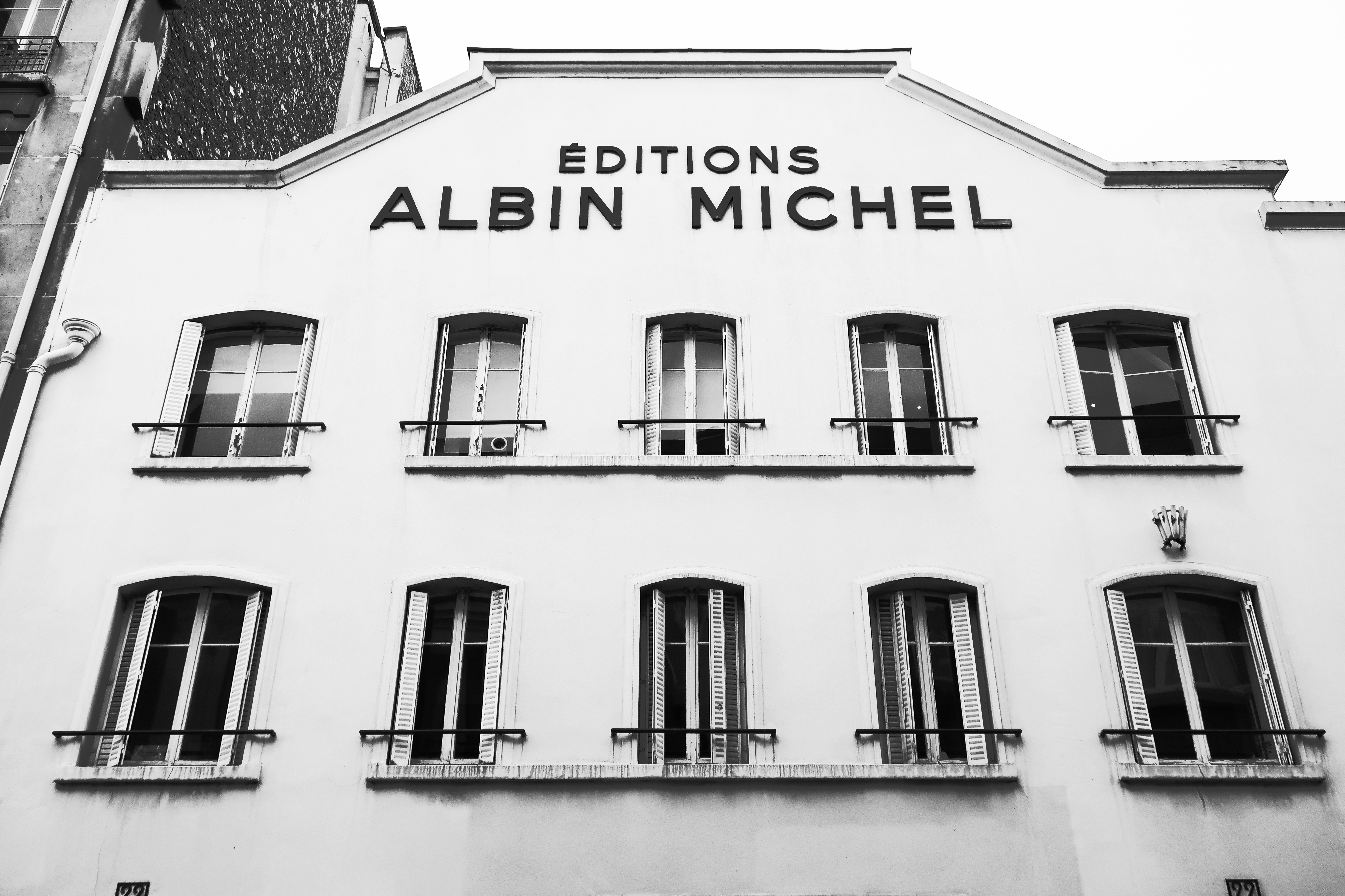 Vue extérieure Editions Albin Michel