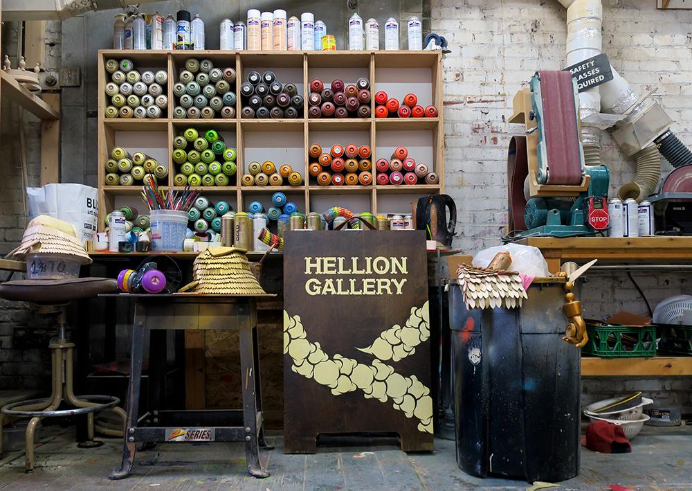Vue intérieure Hellion Gallery