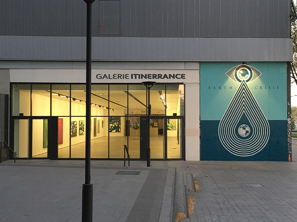 Vue extérieure Galerie Itinerrance